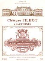 Château Filhot 2000
